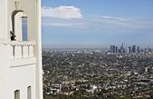 Los Angeles Overlook — Stock Photo