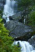 Waterfall and Stones — Stock Photo