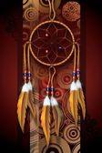 Native american sztuki — Zdjęcie stockowe