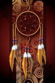 美洲原住民艺术 — 图库照片