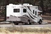 Class C Motorhome — Stock Photo