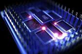 Procesador cuántico — Foto de Stock