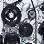 Aluminium Car Engine — Stock Photo #17171135