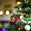 Christmas Tree Closeup — Foto de Stock