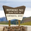 Independence Pass — Stock Photo #17174037