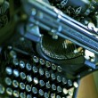Stock Photo: Old Typewriter Machine