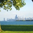 Stock Photo: Chicago and Lake Michigan