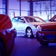 Car Dealer Showroom - Stock Photo