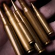 Bullets in Hand — Stock Photo