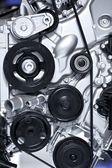 Aluminium Car Engine — Stock Photo