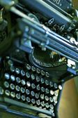 Old Typewriter Machine — Stock Photo