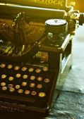 Old Vintage Typewriter — Foto Stock