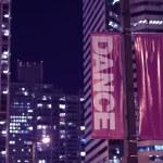 Pole Banners Dance — Stock Photo