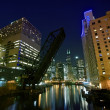 City Lights Chicago — Stock Photo