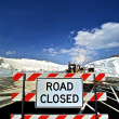 Closed Road — Stock Photo
