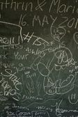 Blackboard Texture — Photo