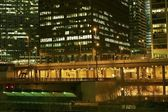 Big City at Night — Stock Photo