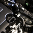 Modern Car Engine — Stock Photo
