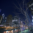 Cityscape at Night — Stock Photo