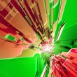 Red-Green Tech — Stock Photo