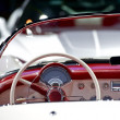 Stock Photo: Oldtimer Convertible Dash