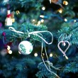 Christmas Tree Closeup — Stockfoto