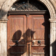 Old European Doors — Stock Photo
