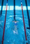 Młody pływak — Zdjęcie stockowe