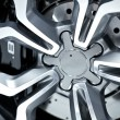 Alloy Wheel Closeup — Stock Photo