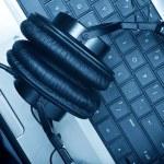 Digital Music Composer — Stock Photo