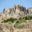 Badlands Formations — Stock Photo #17429285