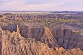 Badlands Panorama — Stock Photo