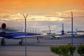 Airport with Jet Planes — Stock Photo