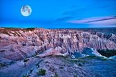 Badlands Dusk — Stock Photo