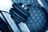 Digitální hudební skladatel — Stock fotografie