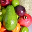 Fresh Fruits Theme — Stock Photo