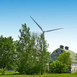 Green Energy Farm — Stock Photo