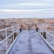 View Point in the Badlands — Stock Photo