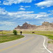 Stock Photo: Badlands Loop Road