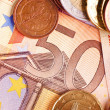 Fifty Euros - Euro Money — Stock Photo