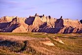 Scenic Badlands — Stock Photo