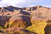 Badlands Eroded Buttes — Stock Photo