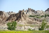 Badlands Landscape — Stock Photo