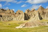 Summer in the Badlands. — Stock Photo