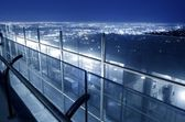 Glass Wall Griffith Park — Stock Photo
