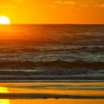 Ocean Sunset Horizon — Stock Photo #17624329