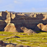 Badlands National Park USA — Stock Photo #17624583