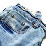 Blue Jeans Closeup — Stock Photo #17625135