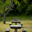 Recreation Site Benches — Stock Photo #17626625