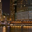 Illuminated Chicago — Stock Photo
